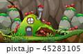 住宅 住居 家のイラスト 45283105