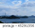 来島海峡SA展望台から見た来島海峡大橋1 45291356