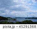 来島海峡SA展望台から見た来島海峡大橋2 45291368