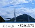 大三島から見た多々羅大橋 45291373