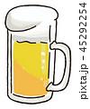 ビールのイラスト素材 45292254