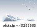 ブロックチェーン キュービック 抽象のイラスト 45292963