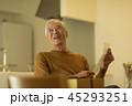 男性 シニア 手紙の写真 45293251
