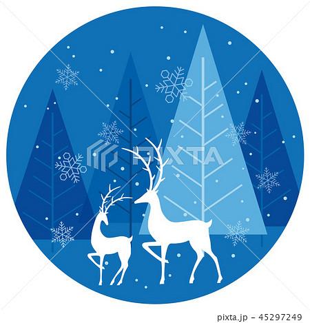 クリスマスの背景イラスト 45297249