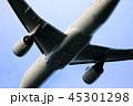 飛行機 旅客機 ジェット機の写真 45301298