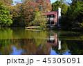 風景 睡鳩荘 紅葉の写真 45305091