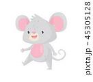 鼠 ねずみ マウスのイラスト 45305128
