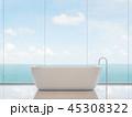 浴室 お風呂 風呂のイラスト 45308322