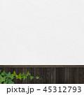 壁 背景 蔦のイラスト 45312793