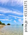青空 晴れ 海の写真 45313875