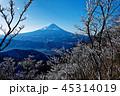 富士山 樹氷 冬の写真 45314019