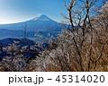 富士山 樹氷 冬の写真 45314020