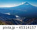 富士山 山 風景の写真 45314157