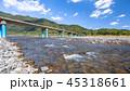 佐田沈下橋の風景 45318661