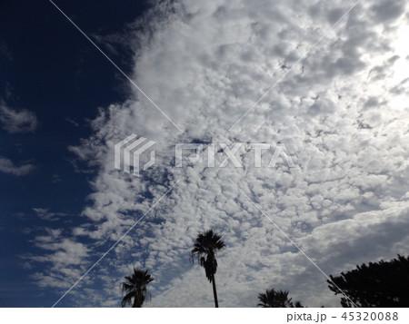 検見川の青い空に白い雲 45320088