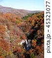 秋の霧降ノ滝 頂部の滝と紅葉 45323077