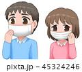 マスクをしておこう 45324246