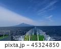 利尻島 海 風景の写真 45324850
