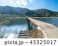 高瀬沈下橋の風景 45325017