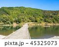 高瀬沈下橋の風景 45325073