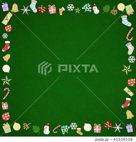 背景-クリスマス-飾り-フレーム 45326529