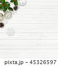クリスマス 背景 オーナメントのイラスト 45326597