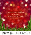 バックグラウンド 背景 クリスマスのイラスト 45332507