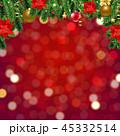 ポインセチア 猩々木 ショウジョウボクのイラスト 45332514