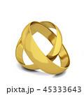 金 黄金 金色のイラスト 45333643
