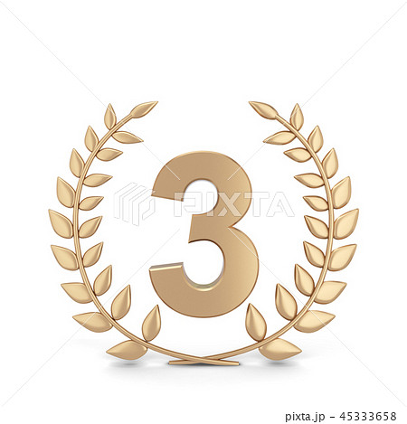 Winner laurel symbol 45333658