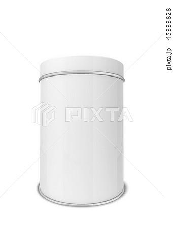 Blank tin can 45333828