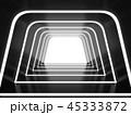 トンネル 洞門 隧道のイラスト 45333872