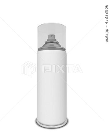 Blank aerosol package 45333906