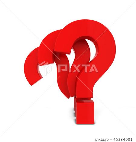 Question mark symbols 45334001