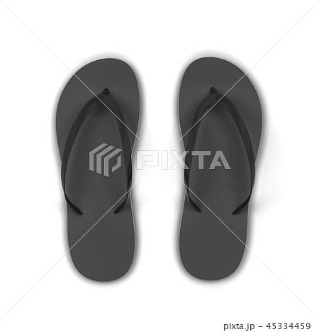Pair of blank flip flops 45334459