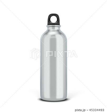 Blank sport bottle for liquid 45334493