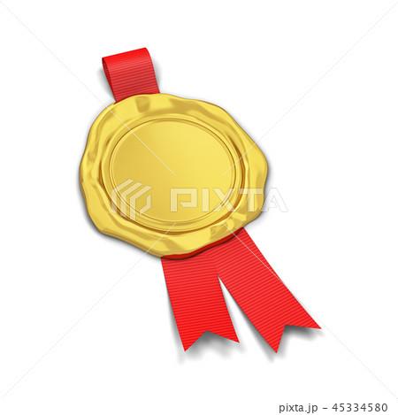 Blank wax seal with ribbon 45334580