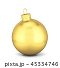 クリスマス ボール 玉のイラスト 45334746