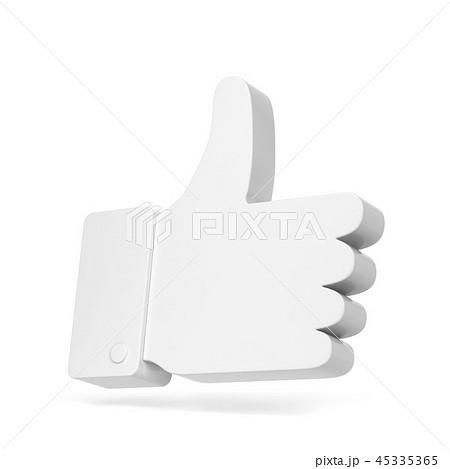 Like thumb up social network symbol 45335365