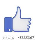 Like thumb up social network symbol 45335367