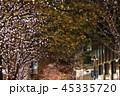 都会 建物 木の写真 45335720