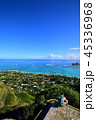 海 ハワイ 風景の写真 45336968
