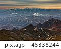 山 夕暮れ 八ヶ岳の写真 45338244