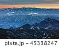 山 夕暮れ 八ヶ岳の写真 45338247