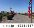 西安の城壁 中国 シルクロード 45341447
