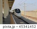 中国新幹線 蘭新線 トルファン北駅 シルクロード 中国 45341452