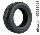 タイヤ ホイール 車輪のイラスト 45344013