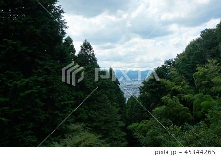日本 京都 山の上からの眺め Japan Kyoto View 45344265