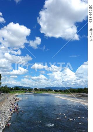 日本 京都 嵐山 桂川 渡月橋からの風景 Japan Kyoto Arashiyama 45344280