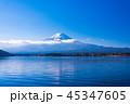 富士山 河口湖 世界遺産の写真 45347605
